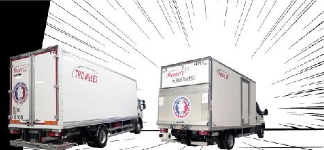 Agence Trouillet, Location camion frigorifique