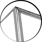 Illustration - Profil et Cadre en Aluminium