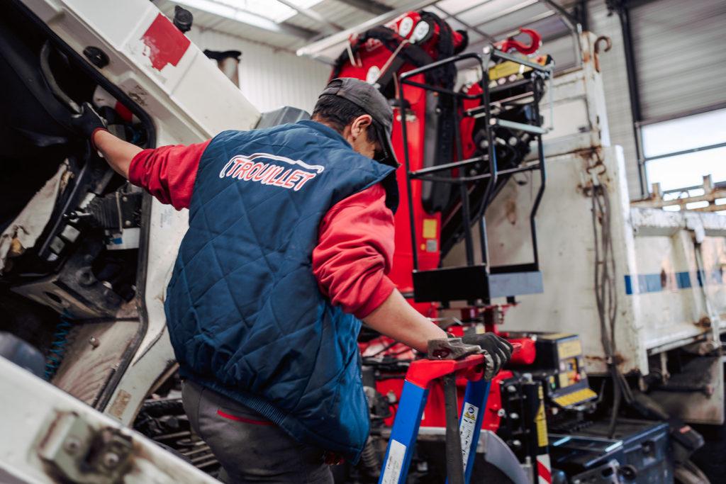 Le carrossier constructeur Trouillet a déployé un service d'accompagnement à travers un réseau national d'agences