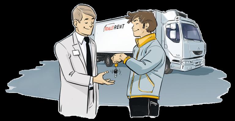 Besoin d'une location poids lourd, véhicule utilitaire ou frigorifique ? Profitez de votre 1er loyer offert.