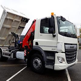 Une offre de véhicules industriels et utilitaires sur-mesure pour vous, le BTP
